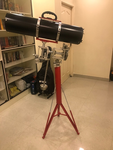 Telescope assembled